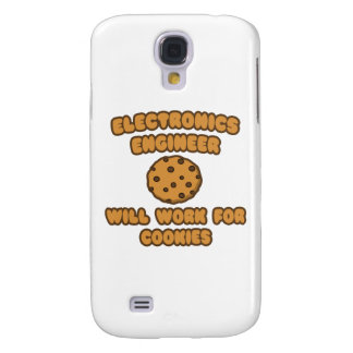Electronics Engineer .. Will Work for Cookies Samsung Galaxy S4 Cover