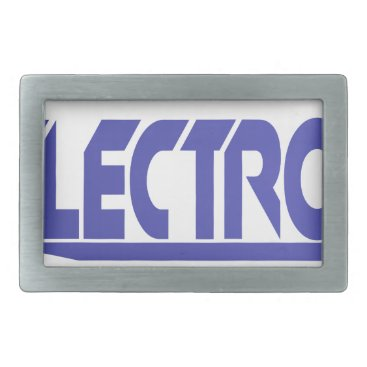 Electronics Rectangular Belt Buckle