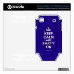 Crown Keep Calm And Love Kelli Staxxx Electronics Skins Samsung Galaxy S Decal