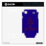 [Crown] keep calm and eat ice-cream  Electronics Skins Samsung Galaxy S Decal