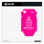 [Crown] keep calm it's your 30th birthday  Electronics Skins Samsung Galaxy S Decal