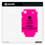 [Cup] keep calm and drink hot cocoa  Electronics Skins Samsung Galaxy S Decal