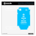 [Crown] be reem and read on!!!!!!  Electronics Skins Samsung Galaxy S Decal