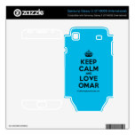 [Crown] keep calm and love omar  Electronics Skins Samsung Galaxy S Decal