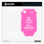 [Crown] keep calm and be a princess  Electronics Skins Samsung Galaxy S Decal