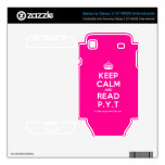 [Crown] keep calm and read p.y.t  Electronics Skins Samsung Galaxy S Decal