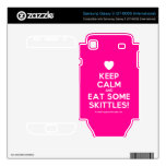 [Love heart] keep calm and eat some skittles!  Electronics Skins Samsung Galaxy S Decal