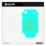 [Cupcake] keepcalm and eat little baby's ice cream  Electronics Skins Samsung Galaxy S Decal
