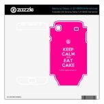 [Cupcake] keep calm and eat cake  Electronics Skins Samsung Galaxy S Decal