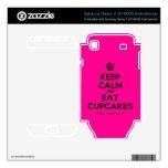 [Cupcake] keep calm and eat cupcakes  Electronics Skins Samsung Galaxy S Decal
