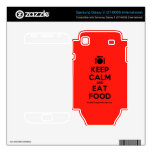 [Cutlery and plate] keep calm and eat food  Electronics Skins Samsung Galaxy S Decal
