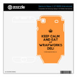 [Crown] keep calm and eat at wrapworks deli  Electronics Skins Samsung Galaxy S Decal