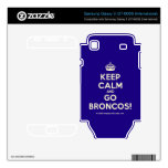 [Crown] keep calm and go broncos!  Electronics Skins Samsung Galaxy S Decal