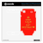 [Crown] keep calm and eat destinay♥  Electronics Skins Samsung Galaxy S Decal