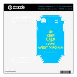 [Crown] keep calm and love west virginia  Electronics Skins Samsung Galaxy S Decal