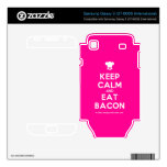 [Chef hat] keep calm and eat bacon  Electronics Skins Samsung Galaxy S Decal