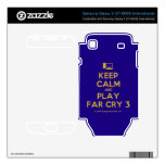 [Computer] keep calm and play far cry 3  Electronics Skins Samsung Galaxy S Decal