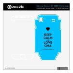 [Love heart] keep calm and love cma  Electronics Skins Samsung Galaxy S Decal
