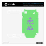 [Crown] keep calm and eat cake  Electronics Skins Samsung Galaxy S Decal