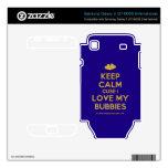 [Two hearts] keep calm cuse i love my bubbies  Electronics Skins Samsung Galaxy S Decal