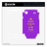 [Crown] keep calm and pun pun  Electronics Skins Samsung Galaxy S Decal