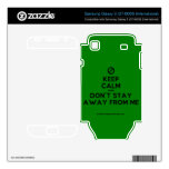 [No sign] keep calm and don't stay away from me  Electronics Skins Samsung Galaxy S Decal