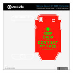 [Cutlery and plate] keep calm and don't eat my face  Electronics Skins Samsung Galaxy S Decal