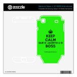 [Crown] keep calm que o jacinto é o boss  Electronics Skins Samsung Galaxy S Decal