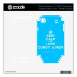 [Crown] keep calm and love coboy junior  Electronics Skins Samsung Galaxy S Decal