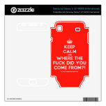 [Crown] keep calm and where the fuck did you come from?!  Electronics Skins Samsung Galaxy S Decal
