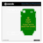 [Crown] keep calm and fuck with skeeter gang  Electronics Skins Samsung Galaxy S Decal