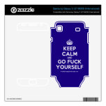 [Crown] keep calm and go fuck yourself  Electronics Skins Samsung Galaxy S Decal
