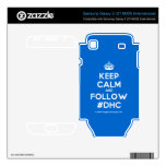 [Crown] keep calm and follow #dhc  Electronics Skins Samsung Galaxy S Decal