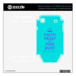[Knitting crown] faith trust and pixie dust  Electronics Skins Samsung Galaxy S Decal