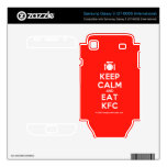 [Cutlery and plate] keep calm and eat kfc  Electronics Skins Samsung Galaxy S Decal