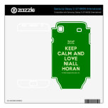 [UK Flag] keep calm and love niall horan  Electronics Skins Samsung Galaxy S Decal