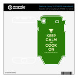 [Chef hat] keep calm and cook on  Electronics Skins Samsung Galaxy S Decal