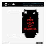 [Campfire] keep calm and eat shaorma  Electronics Skins Samsung Galaxy S Decal