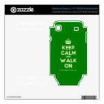 [Crown] keep calm and walk on  Electronics Skins Samsung Galaxy S Decal