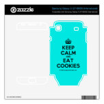 [Crown] keep calm and eat cookies  Electronics Skins Samsung Galaxy S Decal