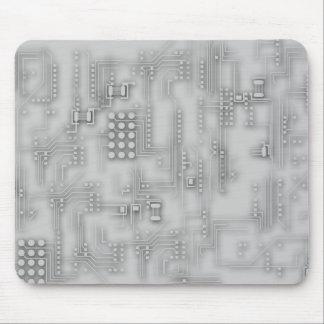 Electronics texture mouse pad