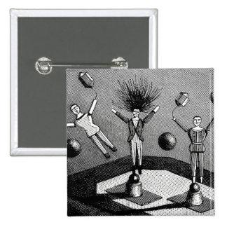 Electrophorus de Peiffer de las muñecas de Steampu Pins