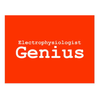 Electrophysiologist Genius Gifts Postcard