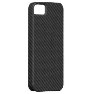 ElectroSky - fibra de carbono V3 iPhone 5 Carcasas