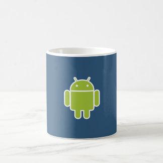 ElectroSky - m203155 androide Taza Básica Blanca