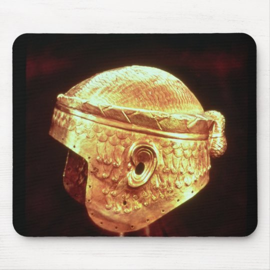 Electrum Helmet of King Mes-Kalem-Dug Mouse Pad