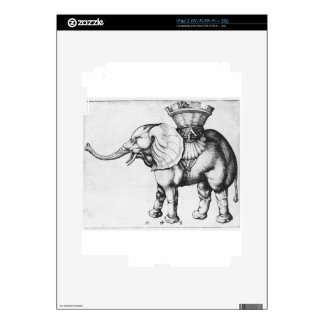 Elefant de Martin Schongauer Skin Para El iPad 2