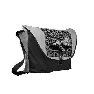 Elefant Outside Print Bag Messenger Bag