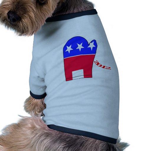 Elefante 2012 del mitón ropa de mascota