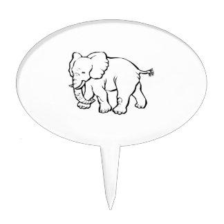 Elefante Palillos De Tarta